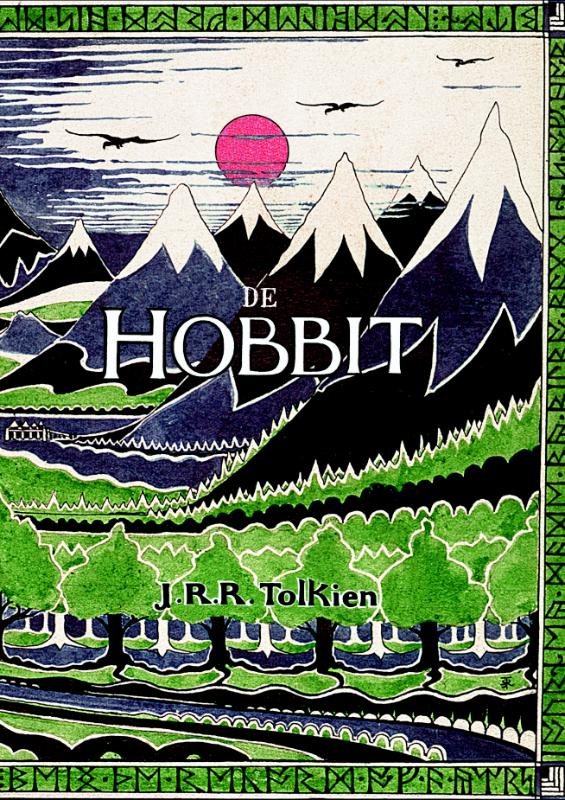 hobbit tolkien boekerij