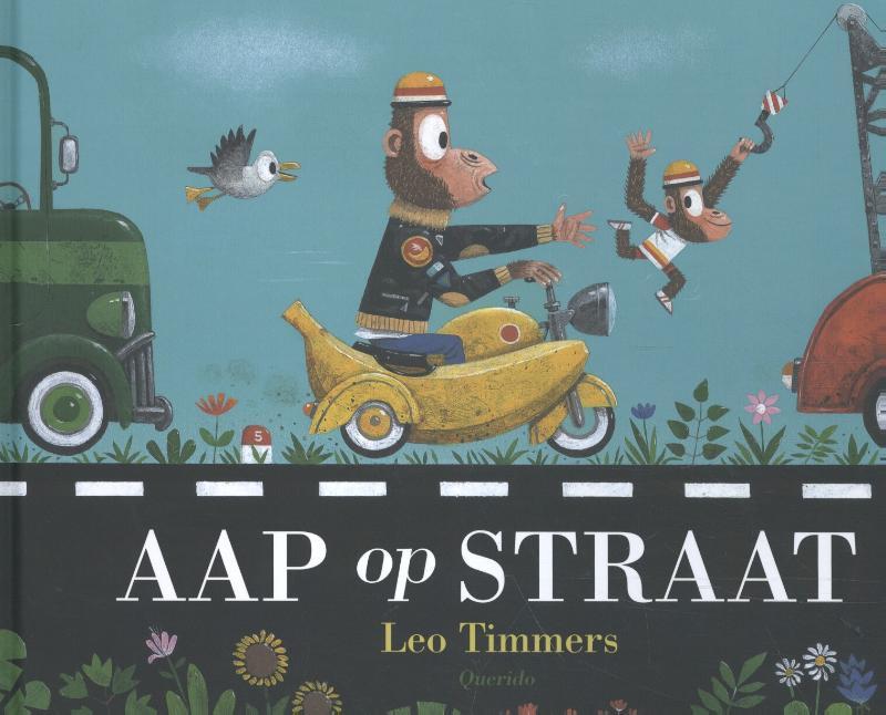 Aap op straat Leo Timmers