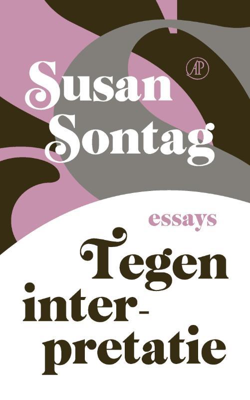 kaft van tegen interpretatie van Susan Sontag